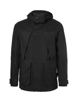 Black Series Urban Mountain Light Gore Tex And Nylon Jacket by The North Face