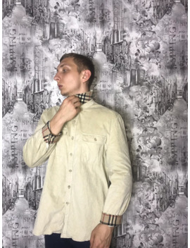 Burberry's Berry Burk Vintage Special Edition Over Shirt by Vintage  ×  Burberry  ×  Rare  ×