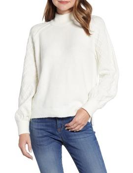 Mix Stitch Turtleneck Sweater by Caslon®