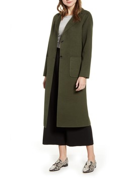 Double Face Long Coat by Halogen®