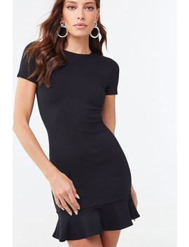 Flounce Bodycon Dress by Forever 21