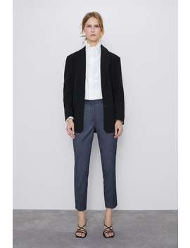 Herringbone Pants With Jogging by Zara