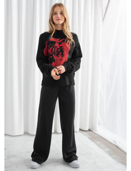Luxurious Slouchy Drawstring Trousers by & Other Stories