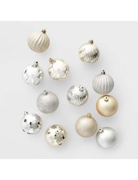 100ct Christmas Ornament Set Silver And Gold   Wondershop™ by Wondershop