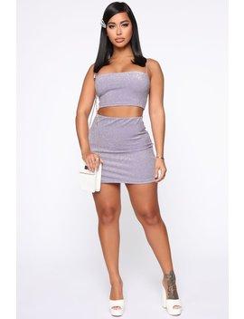 Give Me Some Shine Set   Lavender by Fashion Nova