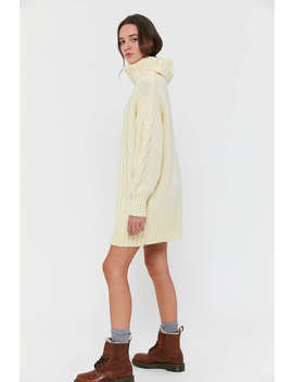 Uo Briar Cable Knit Sweater Dress by Urban Outfitters