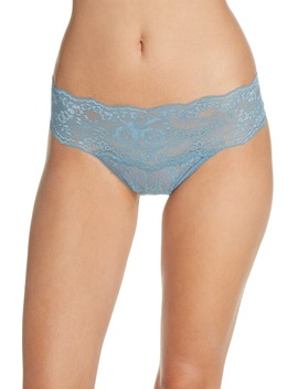 American Beauty Rose Lace Thong by Hanky Panky