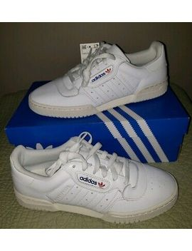 New Adidas Powerphase Ef2888 Sneakers White 8 Mens W/Box Authenticated By Goat by Adidas