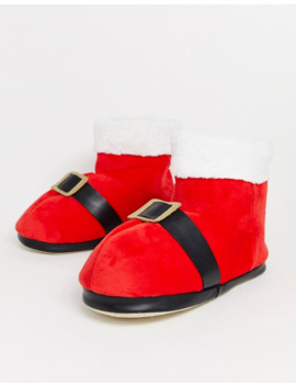 Typo Oversized Santa Slippers by Typo