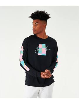 Men's Nike Sportswear Expressive Brand Long Sleeve T Shirt by Nike