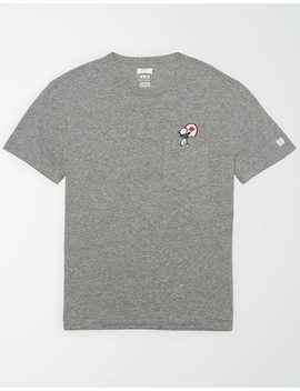Tailgate X Peanuts Men's Wisconsin Pocket T Shirt by American Eagle Outfitters