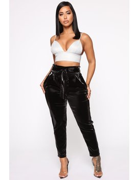 Nights Out In Town Jogger Pants   Black by Fashion Nova