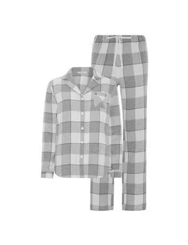 Grey Check Pyjama Set by Primark