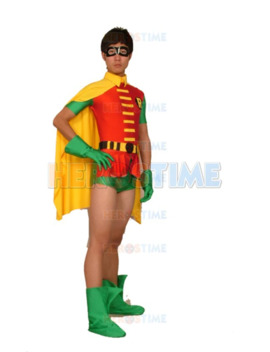 Jason Todd Version Robin Costume Spandex Halloween Cosplay Batman Superhero Costume Zentai Suit For Adult/Custom Made Hot Sale by Ali Express.Com