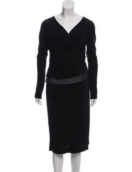 Long Sleeve Midi Dress by Nina Ricci