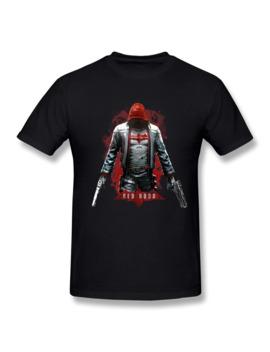 Men's Red Hood Jason Todd Arkham Knight Women Tshirt by Ali Express.Com