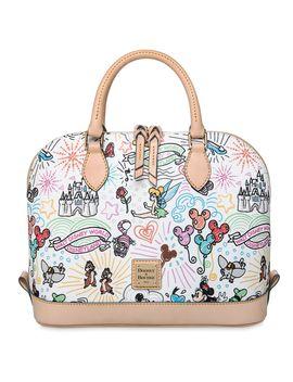 Disney Sketch Zip Satchel By Dooney & Bourke | Shop Disney by Disney