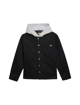Hooded Twill Jacket by Dickies