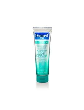 Dermasil Platinum All Day Nourishing Foot Cream   4 Fl Oz by Dermasil
