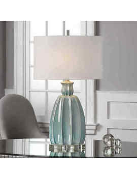 Uttermost Suzanette Ceramic Table Lamp   Blue by Uttermost Co