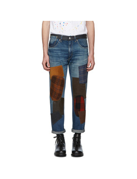 Indigo Levi's Edition 501 1954 Customized Jeans by Junya Watanabe