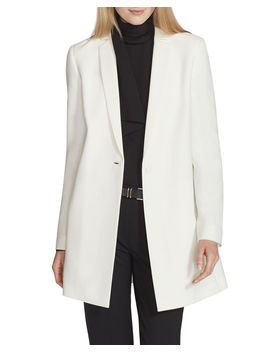 Jobelle Crepe One Button Jacket by Lafayette 148 New York