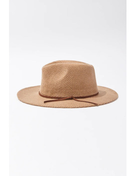 Wide Brim Fedora Hat by Forever 21