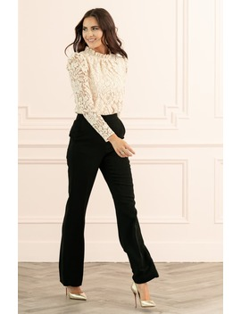 Wide Leg Suit Pants by Rachel Parcell