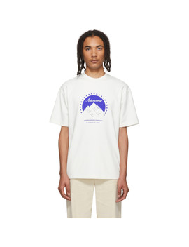 White Oversized Mount T Shirt by Ader Error