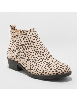 Women's Dylan Microsuede Laser Cut Bootie   Universal Thread™ by Universal Thread