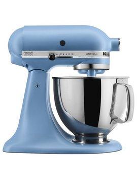 Kitchen Aid Artisan Series 5 Quart Tilt Head Stand Mixer, Matte Vintage Blue (Ksm150 Psvb) by Kitchen Aid
