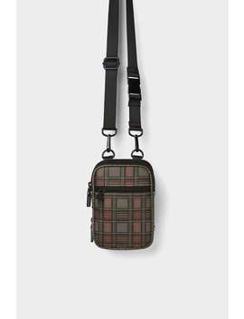 Plaid Mini Crossbody Bag by Zara