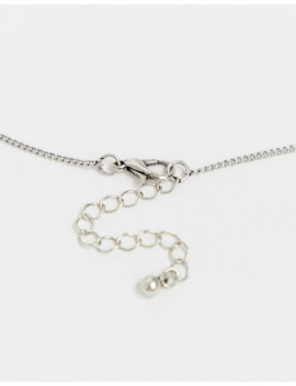 Asos Design Layered Neckchain Pack With Trend Charm Detail In Silver Tone by Asos Design