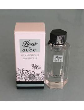 Flora By Gucci Gracious Magnolia Edt Mini Size .16 Oz / 5 Ml New In Box by Gucci