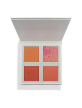 Revolution Pro 4k Blush Palette Peach by Superdrug