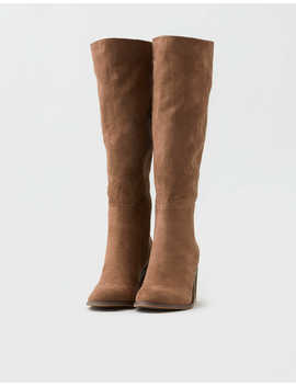 Aeo Block Heel Knee High Boot by American Eagle Outfitters
