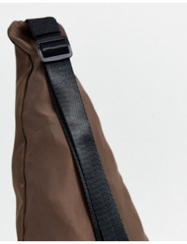 Asos Design Two Piece Cross Body Harness Bag In Brown by Asos Design