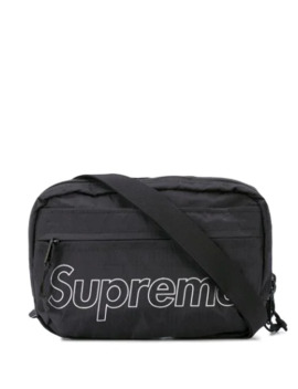 Logo Print Shoulder Bag by Supreme