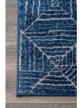 Primavera Striped Tiles Rug by Rugs Usa