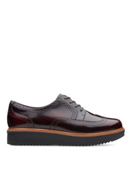 Teadale Maira Man Tailored Roque Lace Up Shoe by Clarks