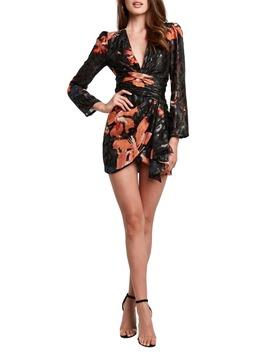Sandie Long Sleeve Minidress by Bardot