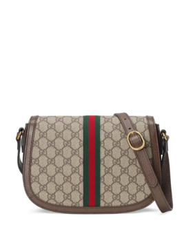 Ophidia Small Gg Supreme Flap Messenger Bag by Gucci
