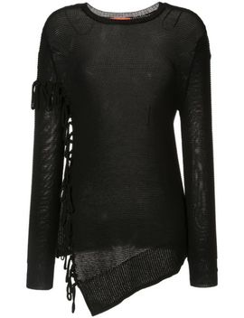 Asymmetric Fringed Jumper by Manning Cartell