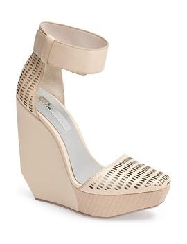 'austin' Ankle Strap Wedge Sandal by Bcbgmaxazria