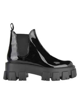 Prada Patent Leather Boots by Prada