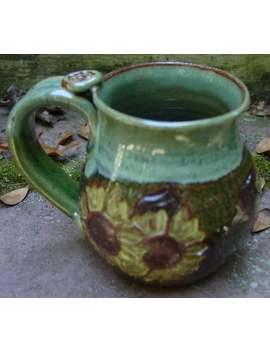 Sunflower Mug by Etsy