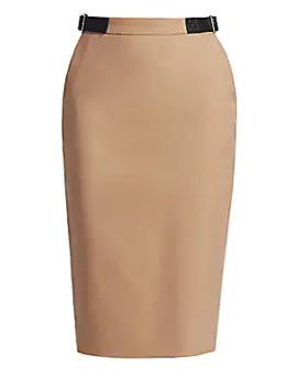 Bolan Wool Midi Skirt by Altuzarra