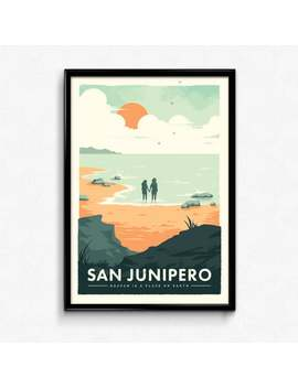 San Junipero   Black Mirror Poster Print by Etsy