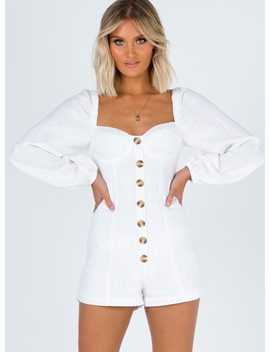 Costello Playsuit by Princess Polly