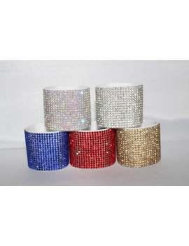 Jewels Collection   Rhinestone Wrap, Rhinestone Cuff, Ponytail Wrap, Ponytail Cuff by Etsy